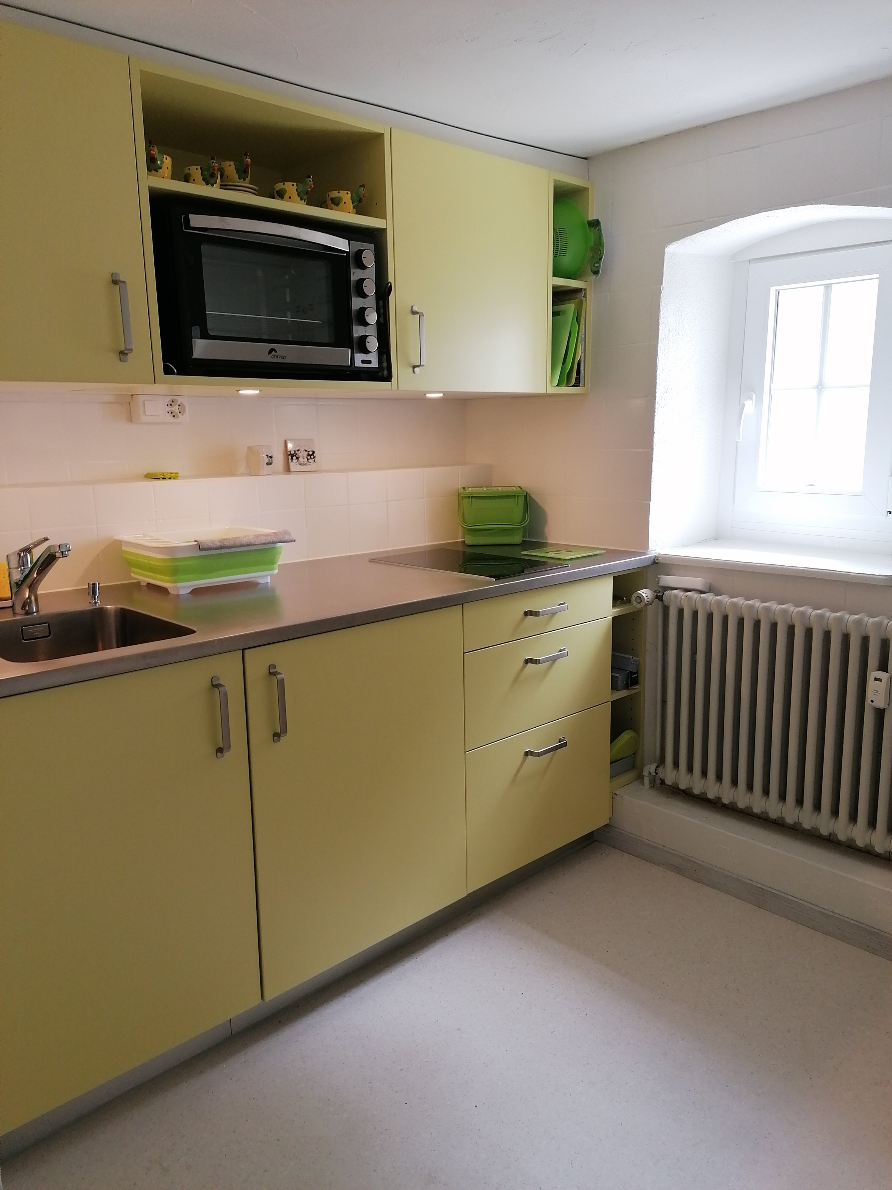 Fully equipped kitchenette (incl. fridge)